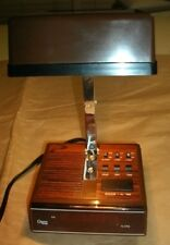 1970's COSMO TIME 5501 ALL IN ONE DIGITAL LED ALARM CLOCK ARM LAMP LIGHT
