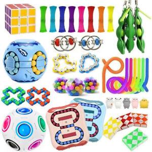 Fidget Toys Set Sensory Tools Bundle Stress Relief Hand Kids Adults ADHD Toy
