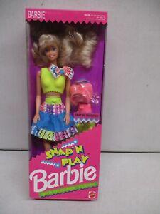 1991 Snap'n Play Barbie