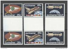 REP. SURINAME 1982 ZBL 280-82 BP TETE BECHE SPACE MNH **