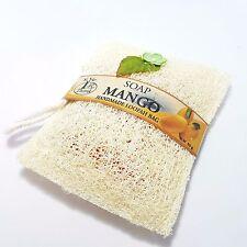 Mango Loofah Luffa Sponge Soap Exfoliator Body Shower Bath Spa Scrub Skin