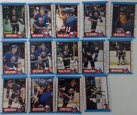 1989-90 O-Pee-Chee OPC New York Islanders Team Set of 14 Hockey Cards