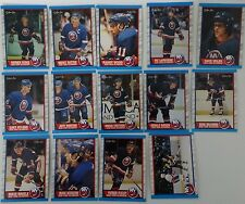 1989-90 O-Pee-Chee OPC New York Islanders Team Set of 14 Hockey Cards