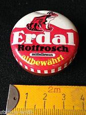 alte Erdal,Rotfrosch Miniatur Blechdose,mittelbraun,Zubehör f.d.Kaufladen
