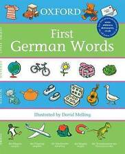 Oxford First German Words by Neil Morris (Paperback, 2007)