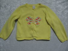 Gymboree Spring Rainbow Yellow Knitted Cardigan Sweater, 5