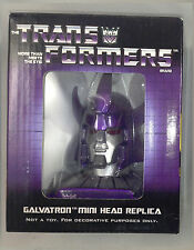 Transformers Galvatron Head Bust Statue NEW MIB