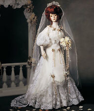 "NRFB Franklin Mint GIBSON GIRL BRIDE DOLL ANNIVERSARY HEIRLOOM 21"" reduced"