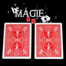 Carte Spéciale Bicycle - Double dos Rouge - Tour de magie