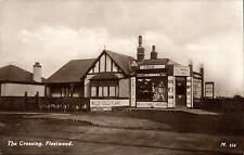 Fleetwood. The Crossing # M 314. T. Grimshaw Fleetwood Stores.