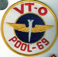 US NAVY Air Force VT-O Pool-69 Aviation Jet Fighter Squadron Patch wings USMC