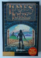 """Times of Lore by Origin Commodore 64 C-64 5.25"""" Disk w/Box & Inserts Review Copy"""