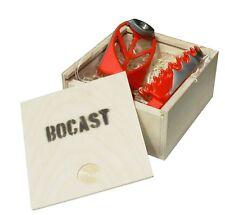 BOCAST Fußrasten für HUSQVARNA NUDA 900 900R rot mit Schleifern top Zubehör
