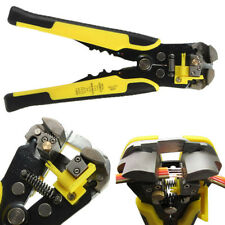 Professional Automatic Wire Striper Cutter Stripper Crimper Pliers Electric Tool