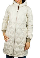 Burton Monarch Trench Down Jacket Womens Packable Cream XS