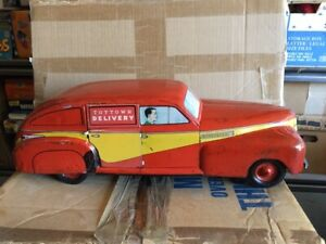 WYANDOTTE TOY TOWN Delivery Woody Wagon 1940s