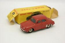 Dinky Toys France 1/43 - Renault Dauphine Brique 524 avec glaces + Boite