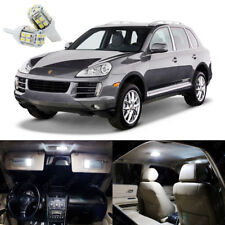 21 x Xenon White LED Interior Light Package Kit For Porsche Cayenne 2003 - 2010