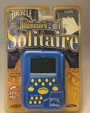 Bicycle Illuminated 2-in-1 Electronic SOLITAIRE Game - Brand New