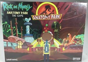 CRYPTOZOIC ENTERTAINMENT RICK AND MORTY ANATOMY PARK THE GAME 2-4 PLAYERS 18+