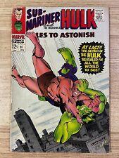 Tales to Astonish #87 (Marvel Comics) Hulk and Sub-Mariner appearance