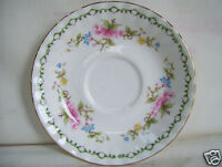 Royal Vale Bone China  Floral Decorated Saucer Only No Cup Made In England