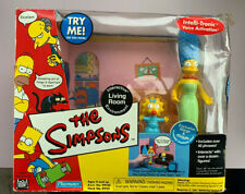 Playmates The Simpsons Marge&Maggie Interactive PlaySet Exclusive Figure