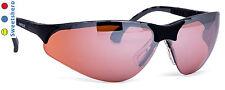 Infield Schutzbrille Terminator UV-Schutz super kratzfest rot/braun verspiegelt