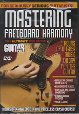 Mastering Fretboard Harmony Music Theory Guitar DVD Learn How To Play Tuition