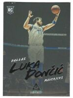 2018-19 Chronicles Luminance Rookie Luka Doncic RC #166 Dallas Mavericks