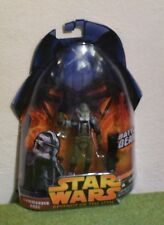 STAR WARS CARDED REVENGE OF THE SITH COMMANDER GREE BATTLE GEAR