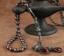 Islamic Prayer Beads, Real Erzurum Oltu Stone Tesbih, masbaha, 7x9 mm, 33 beads