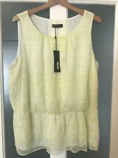 NEW M&S AUTOGRAPH Summer Top  SIZE 18 BNWT RRP £45