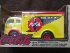1949 WHITE DELIVERY TRUCK BANK Coca Cola