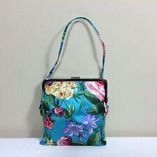 DOLCE&GABBANA Vintage Abendtasche Satin Blumen Luxus Party Bag Flowers Trend