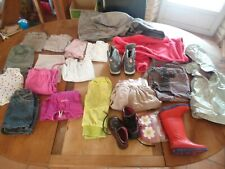GROS LOT VETEMENTS BEBE  1 an 2 ans FILLE TENUES KG ORCHESTRA + DIVERS MARQUES 4
