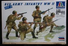1:35 Italeri #346 Red Army Infantry WWII Set 2