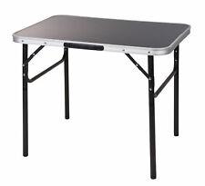 Alu Campingtisch schwarz 75x55 cm - Klapptisch höhenverstellbar Picknick Tisch