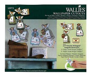 Wallies Wallpaper Cutouts 25 Susan Winget Angels Wall Decal Furniture Decoupage