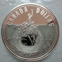 CANADA 1975 CALGARY SPECIMEN COMMEMORATIVE SILVER DOLLAR COIN