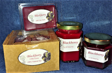 **NEW** Hand Poured Fresh Fruit Scents Soy Candles, Tarts & Votives - Blackberry