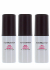 (LOT OF 3) BareMinerals Daily Recovery Concentrate Tubes 2oz/60mL New No Box