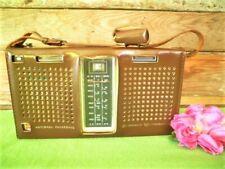 VINTAGE NATIONAL PANASONIC RADIO 3-BAND 12-TRANSISTOR R-357D 4-DIODE JAPAN COVER