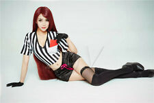 New League of Legends LOL Katarina Du Couteau Sexy Cosplay Costume Uniform Set