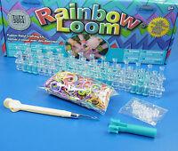 Original Rainbow Loom Starter Set Bänder Webrahmen Metallhaken latexfrei 2014