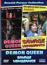 Demon Queen , Savage Vengeance , 555 , 2 Discs , small hardbox , uncut , new
