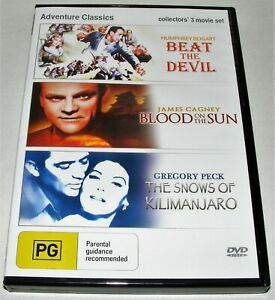 Beat The Devil  /  Blood On The Sun  / The Snows Of Kilmanjaro --- ( Dvd )
