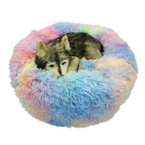 VIP Link Pet Dog Bed For Large Big Small Cat House Round Plush Mat Sofa