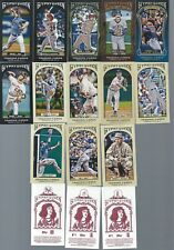 Finish Your 2011 2012 Topps Gypsy Queen Mini SP Sets U PICK 4