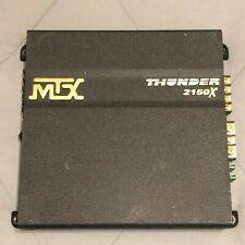 Mtx 2150X 2 channel amplifier 425 Watt